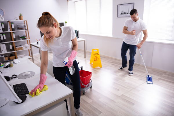 commercial cleaning office